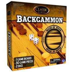 Classic Games - Backgammon...
